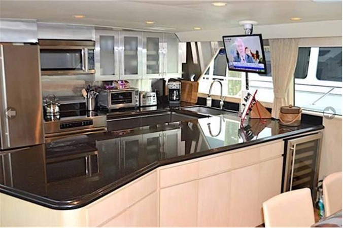 Galley 1990 BROWARD Custom Extended Motor Yacht 2499311