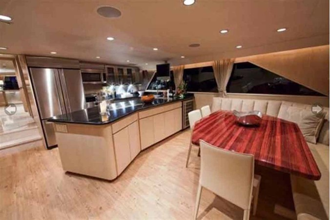 Galley 1990 BROWARD Custom Extended Motor Yacht 2499313