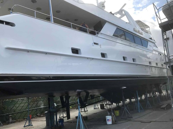 December 2018 Yard Visit 1990 BROWARD Custom Extended Motor Yacht 2499375