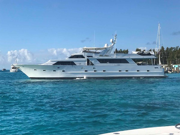 Alternate Profile 1990 BROWARD Custom Extended Motor Yacht 2499386