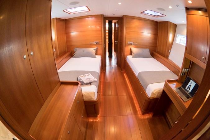 Owner's cabin (6) 2008 NAUTOR'S SWAN Swan 90 Racing Sailboat 2494407