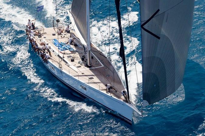 Loro Piana - BVI marzo 2017 (1) 2008 NAUTOR'S SWAN Swan 90 Racing Sailboat 2494417
