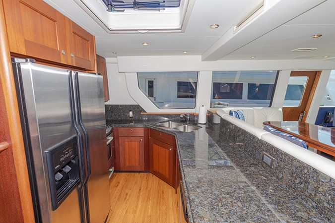 Galley 2006 PACIFIC MARINER  Motor Yacht 2537823