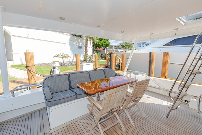 Aft Deck 2006 PACIFIC MARINER  Motor Yacht 2537844