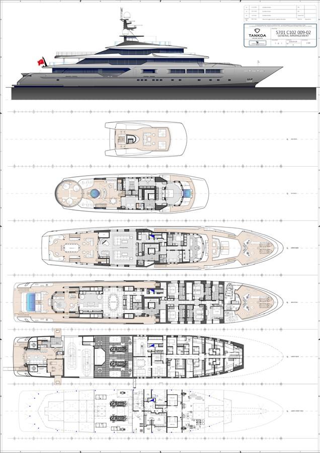 2018 TANKOA YACHTS S701 Mega Yacht 2502309