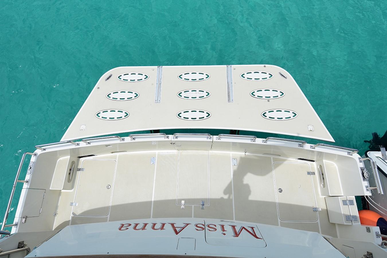 Cockpit/Swim Platform 2007 OFFSHORE YACHTS Voyager Motor Yacht 2535012