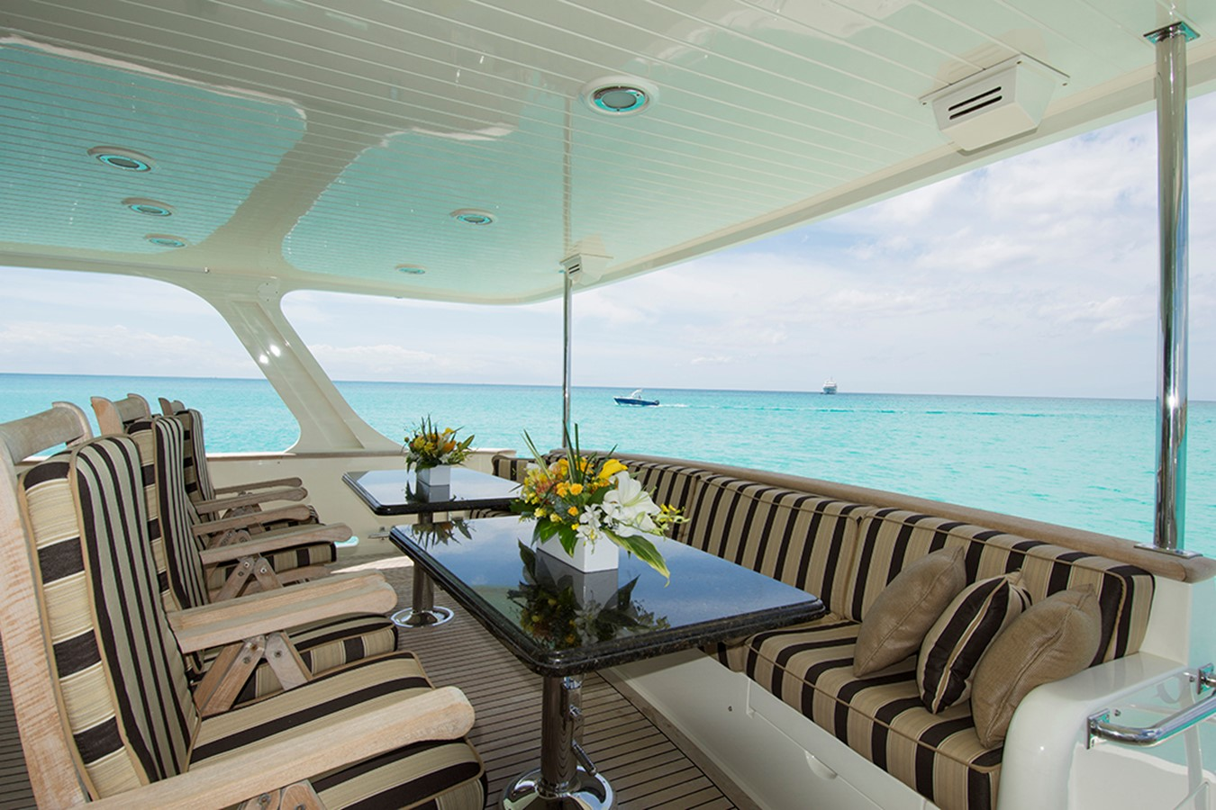 Aft Deck 2007 OFFSHORE YACHTS Voyager Motor Yacht 2535013