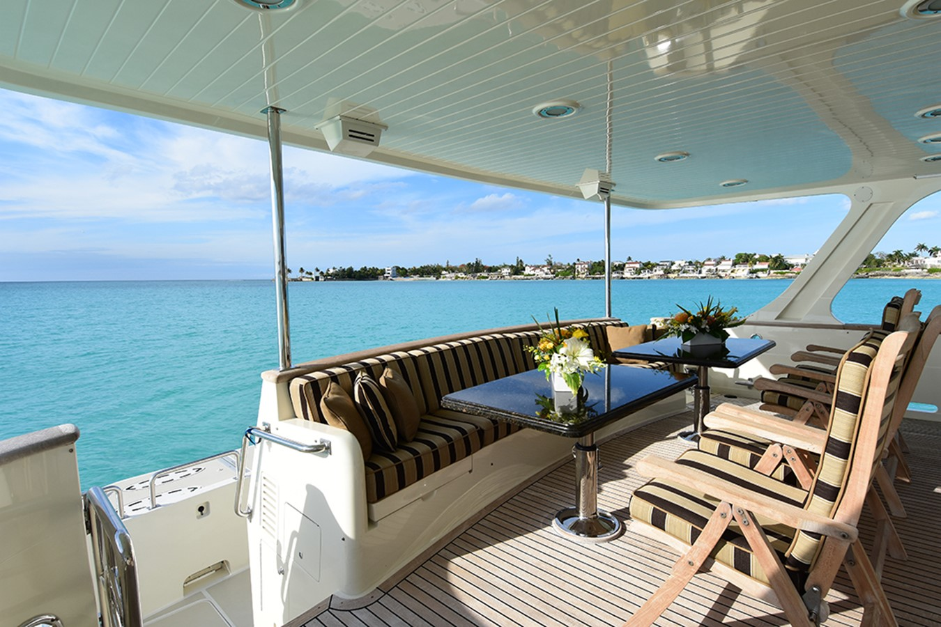 Aft Deck 2007 OFFSHORE YACHTS Voyager Motor Yacht 2535014