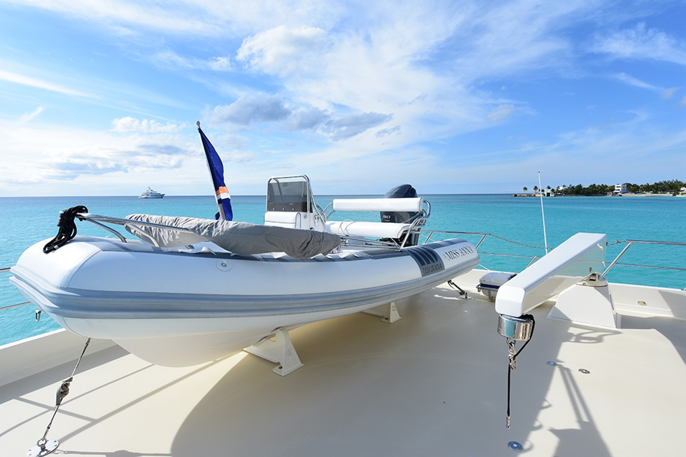Tender on Boat Deck 2007 OFFSHORE YACHTS Voyager Motor Yacht 2535019