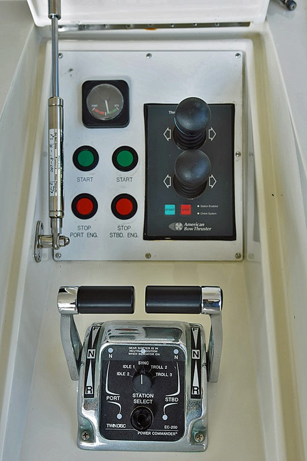 Aft Deck Station 2007 OFFSHORE YACHTS Voyager Motor Yacht 2585930