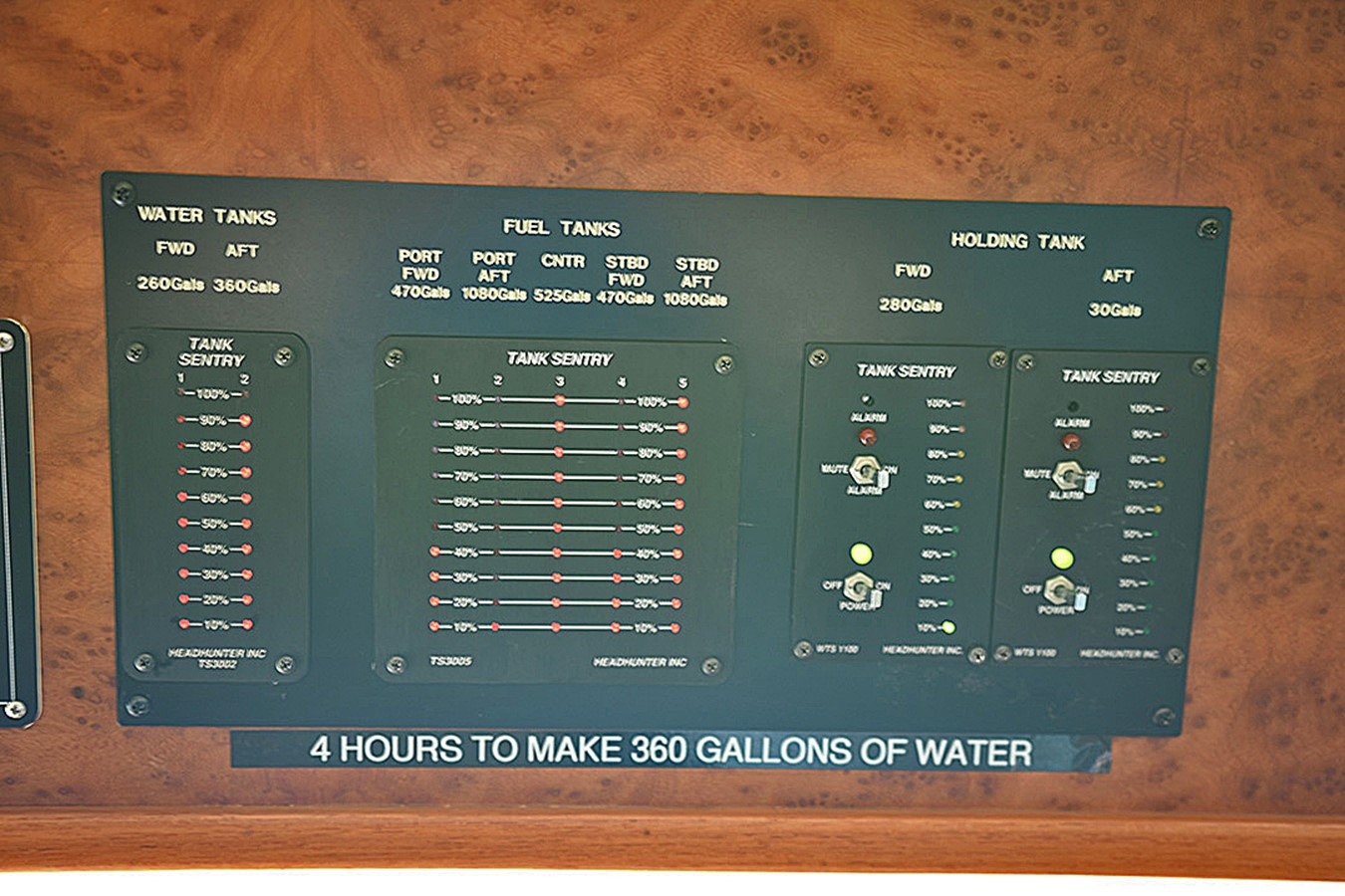 PH H2O Monitor 2007 OFFSHORE YACHTS Voyager Motor Yacht 2585932