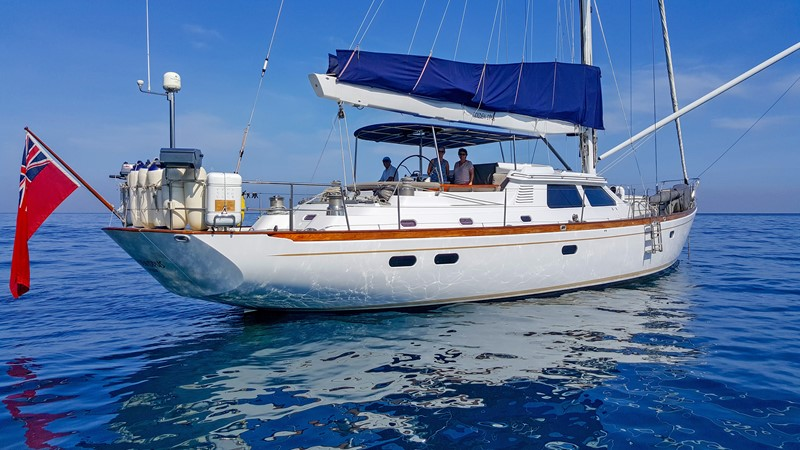 Opus 73 Aft Stbd 1997 SENSATION Opus 73 Cruising Sailboat 2498527