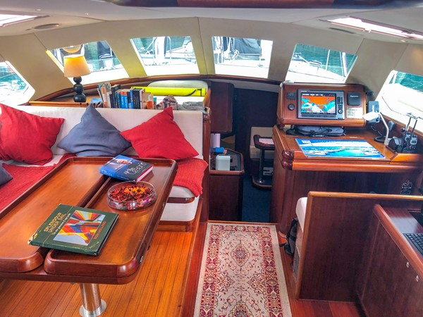 Opus 73 Pilothouse 1997 SENSATION Opus 73 Cruising Sailboat 2519776