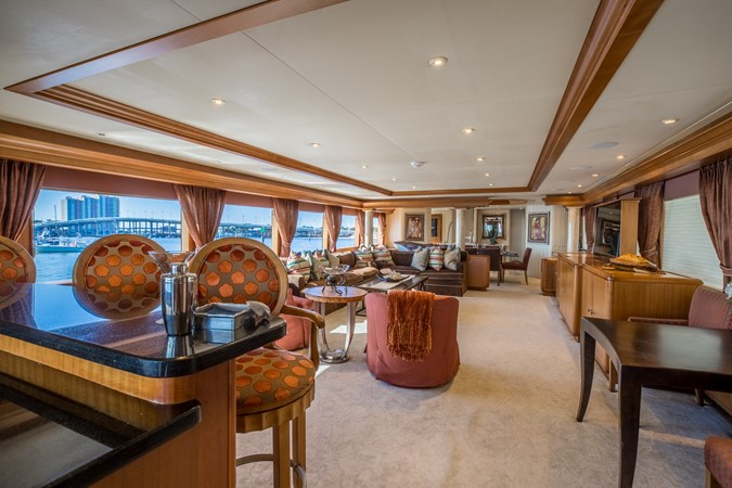 Salon 1995 HATTERAS  Motor Yacht 2499084