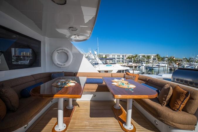 Skylounge - Deck 1995 HATTERAS  Motor Yacht 2499089