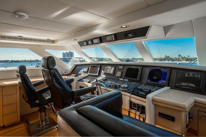 Pilothouse - Helm 1995 HATTERAS  Motor Yacht 2499106