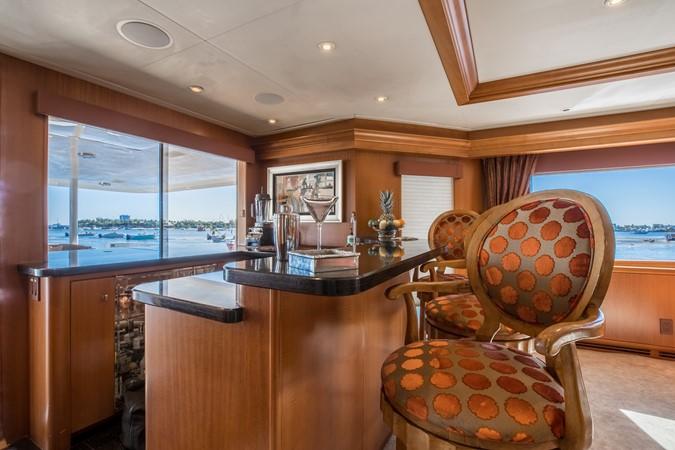 Salon Bar 1995 HATTERAS  Motor Yacht 2499113