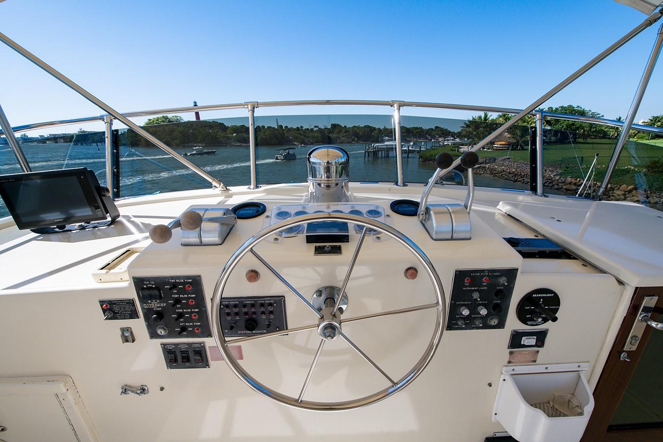 1986 HATTERAS Cockpit Motoryacht Motor Yacht 2501329