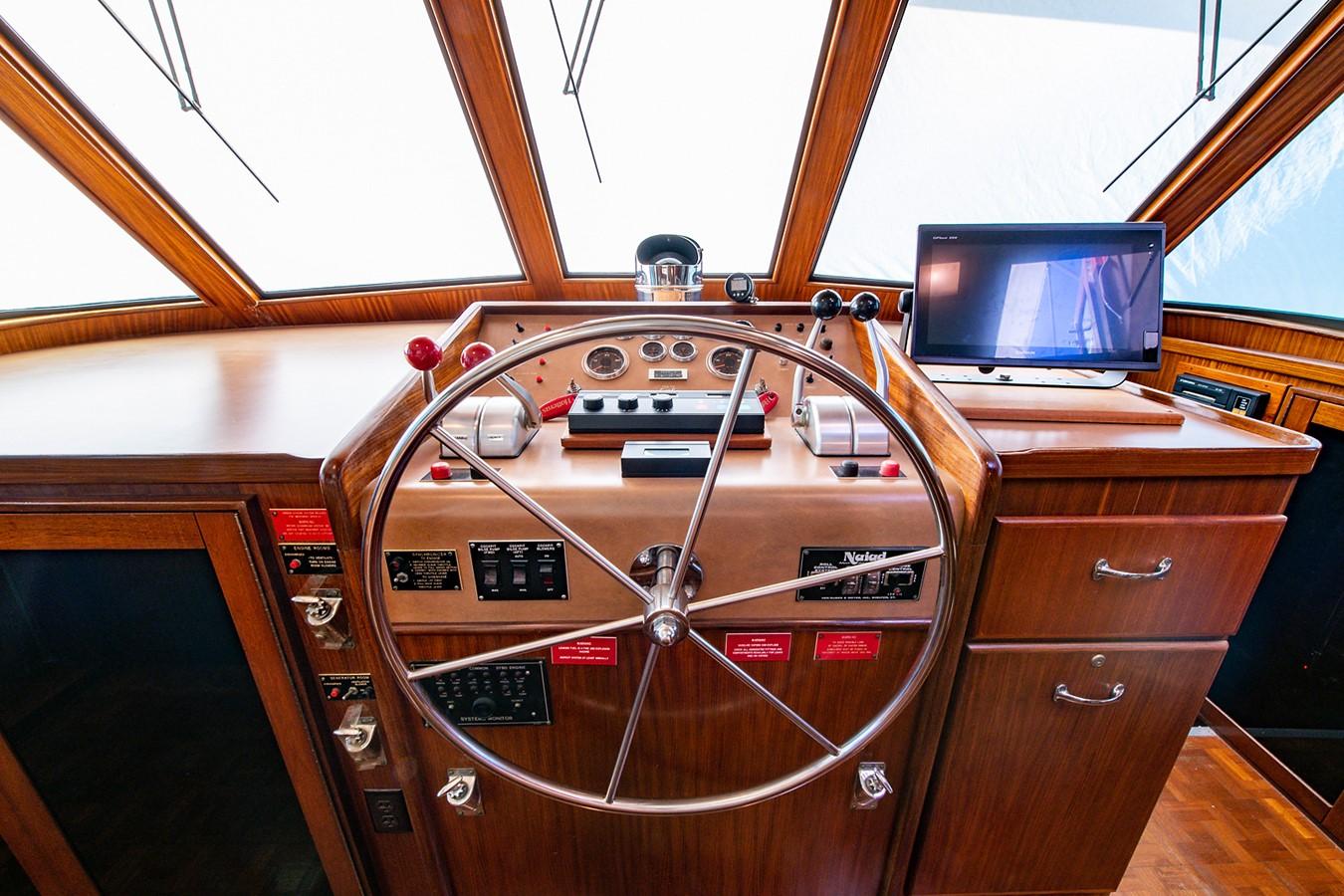 1986 HATTERAS Cockpit Motoryacht Motor Yacht 2501364