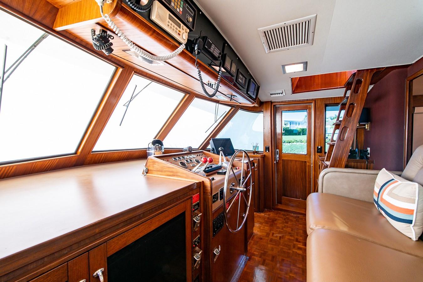 1986 HATTERAS Cockpit Motoryacht Motor Yacht 2501366