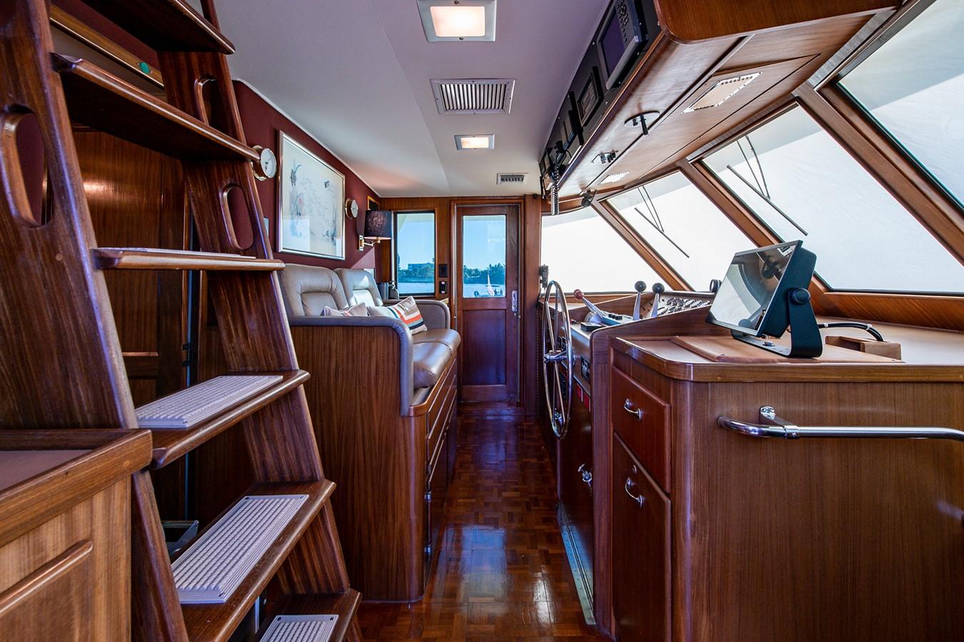 1986 HATTERAS Cockpit Motoryacht Motor Yacht 2501368