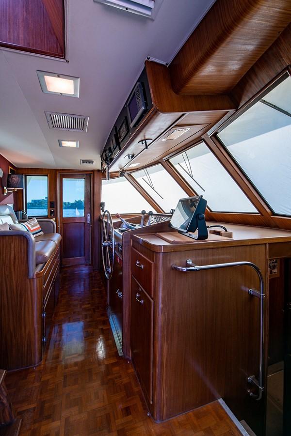 1986 HATTERAS Cockpit Motoryacht Motor Yacht 2501369