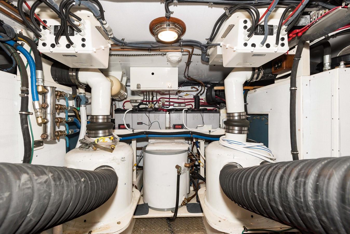 Engine Room 1983 DEFEVER Aft Cabin Motoryacht Trawler 2580957
