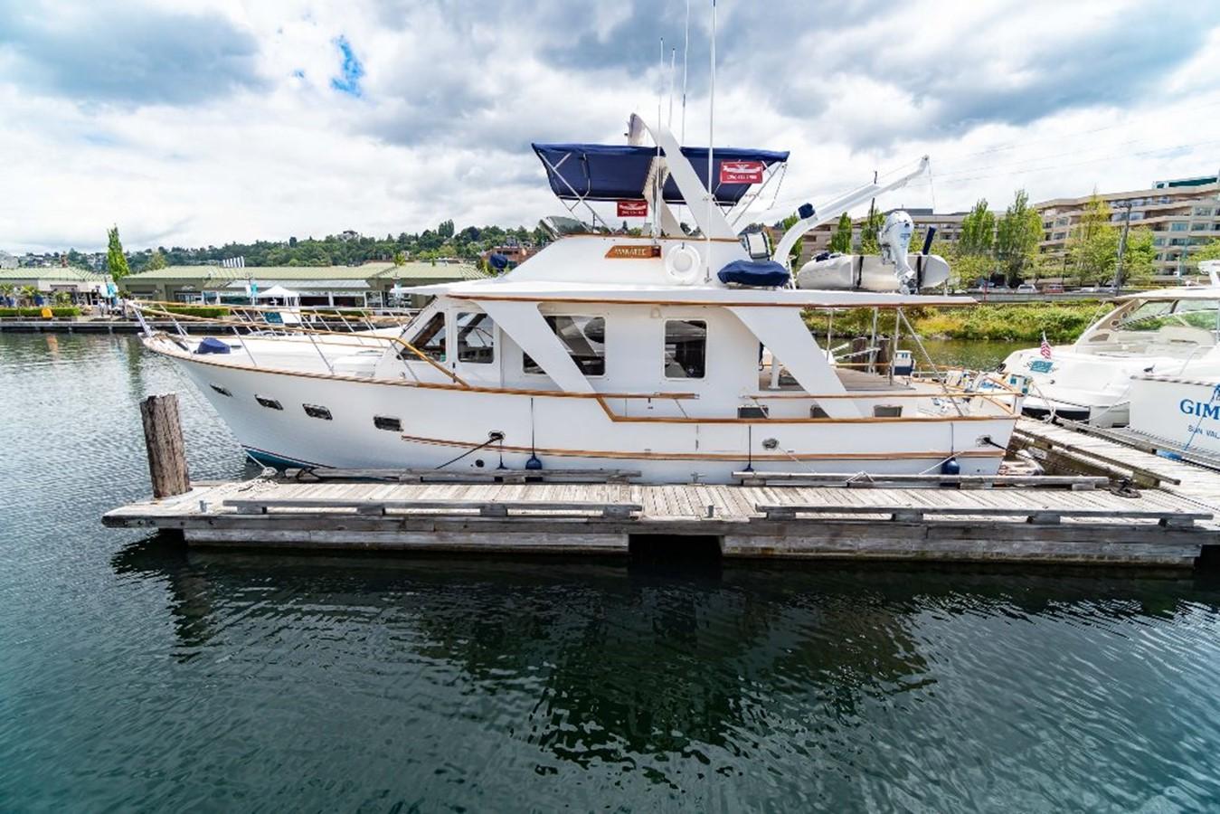 Easy Access 1983 DEFEVER Aft Cabin Motoryacht Trawler 2581255