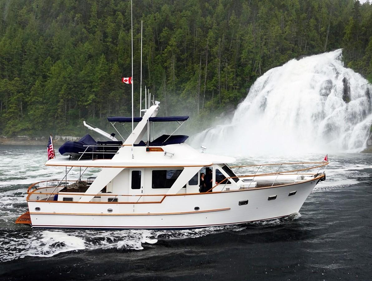 Manatee at Kynoch Falls 1983 DEFEVER Aft Cabin Motoryacht Trawler 2581306