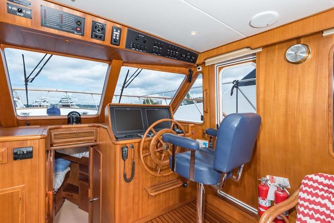 Lower Helm 1983 DEFEVER Aft Cabin Motoryacht Trawler 2580904