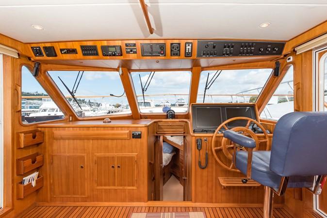 All New Overhead Electronics 1983 DEFEVER Aft Cabin Motoryacht Trawler 2580905