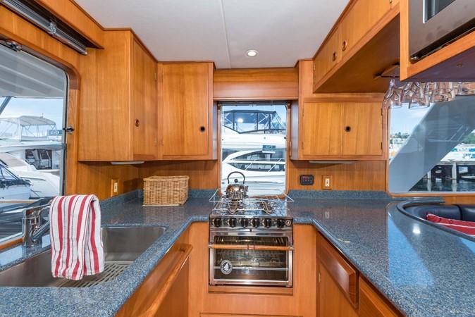 Custom Countertops & Backsplash 1983 DEFEVER Aft Cabin Motoryacht Trawler 2580910