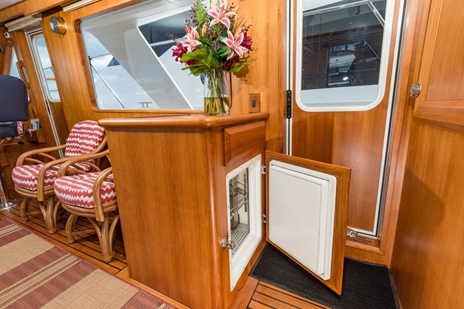 Holding Plate Refrigerator/Freezer 1983 DEFEVER Aft Cabin Motoryacht Trawler 2580913