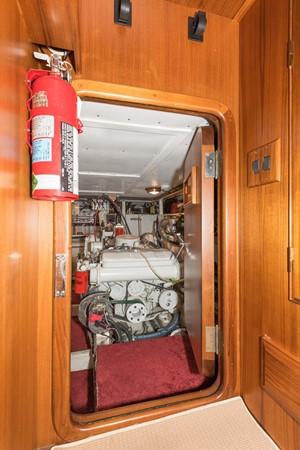 Engine Room Access 1983 DEFEVER Aft Cabin Motoryacht Trawler 2580917