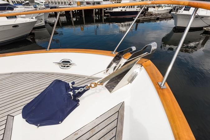Anchor Windlass 1983 DEFEVER Aft Cabin Motoryacht Trawler 2580935
