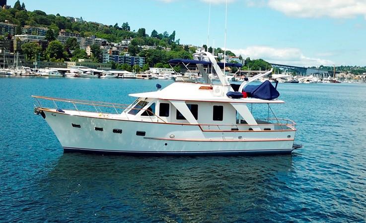 Port View 1983 DEFEVER Aft Cabin Motoryacht Trawler 2581256