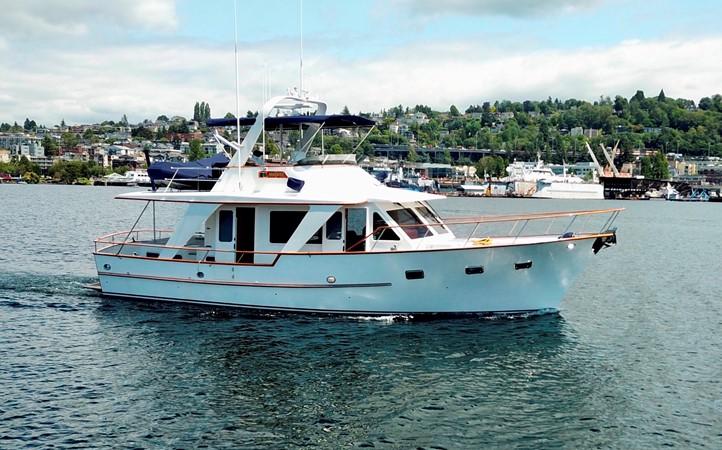 48' Defever MANATEE 1983 DEFEVER Aft Cabin Motoryacht Trawler 2581258
