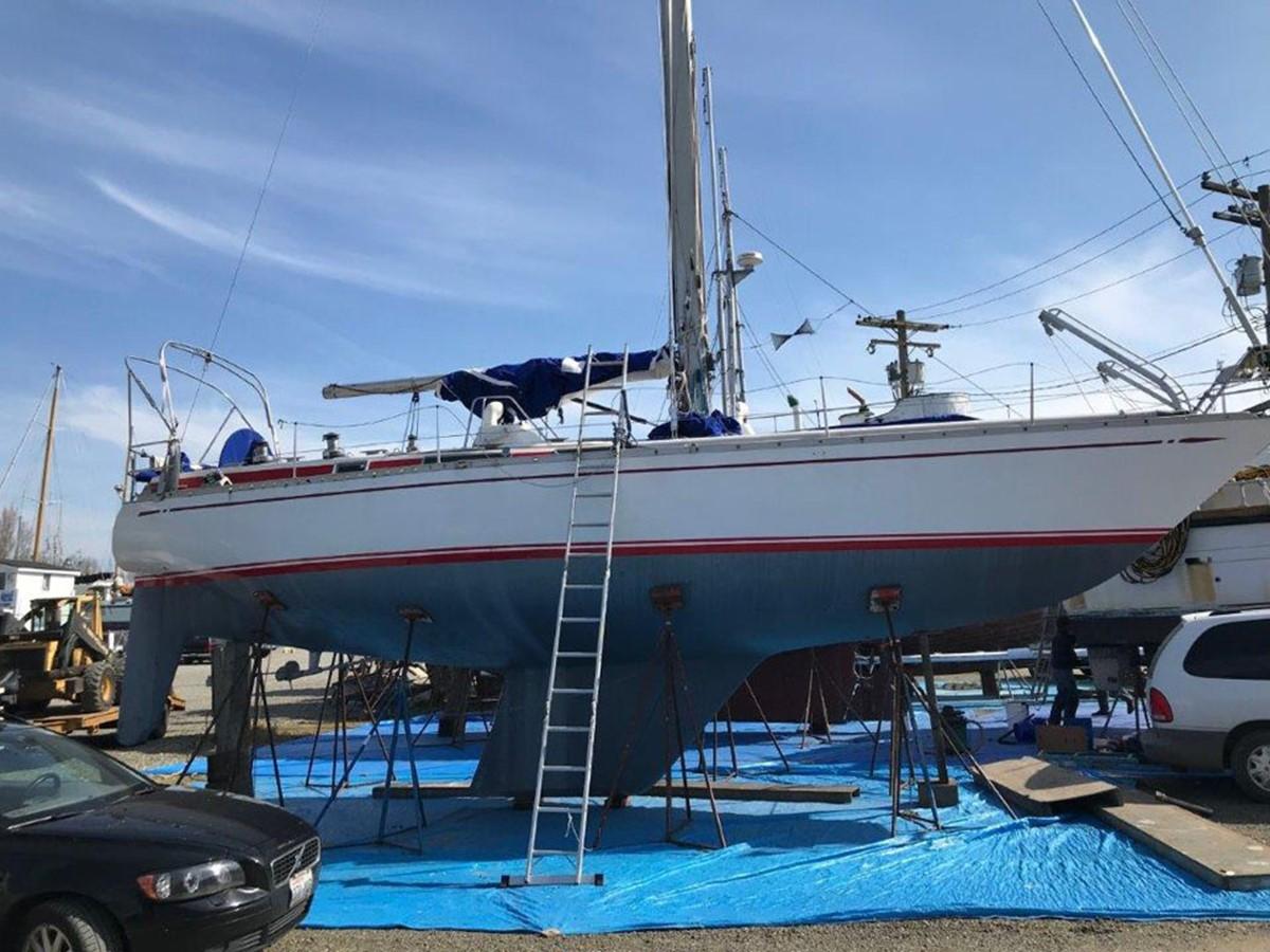 1977 NAUTOR'S SWAN Nautor Swan 411 Cruising Sailboat 2506161