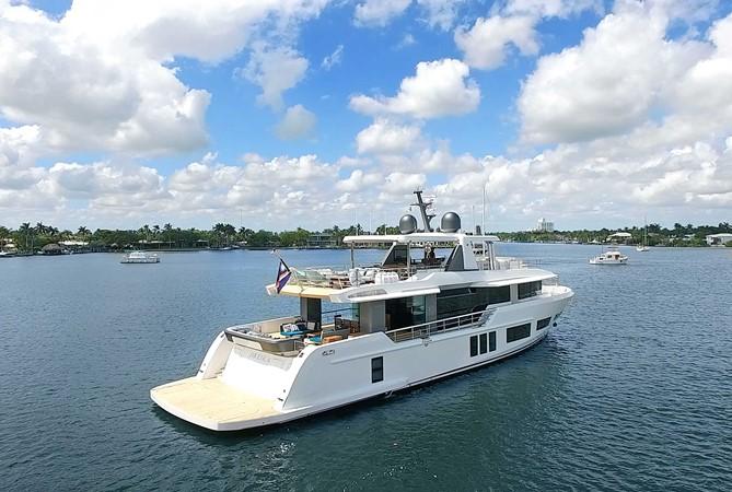 ALPHA ANDREIKA  2017 ALPHA 106 AL FRESCO @ FLORIDA Yacht for Sale