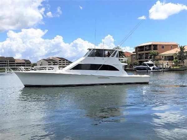 1998 Ocean Yachts Enclosed Bridge Sport Fisherman 2510589