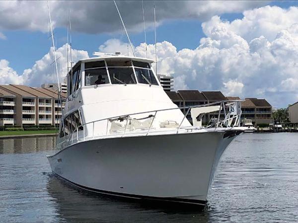 1998 Ocean Yachts Enclosed Bridge Sport Fisherman 2510590