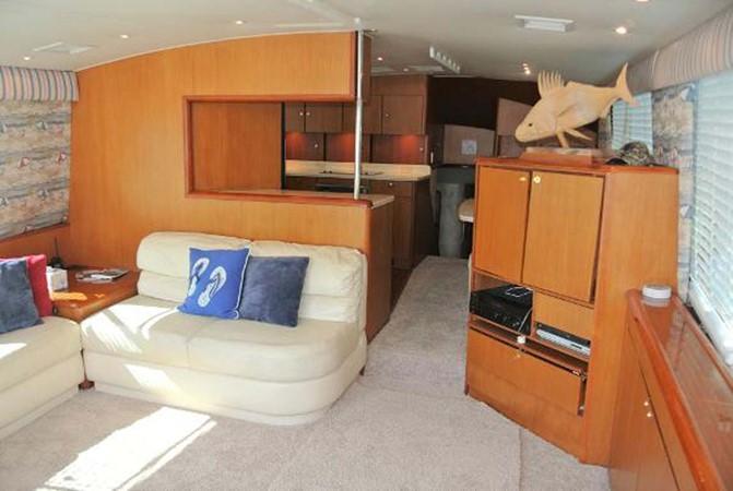 1998 Ocean Yachts Enclosed Bridge Sport Fisherman 2510599