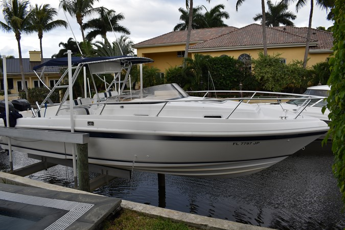 This 1997 33' Intrepid 339 Walk Around for Sale - SYS Yacht Sales 1997 INTREPID 339 Walk Around Walkaround 2548233
