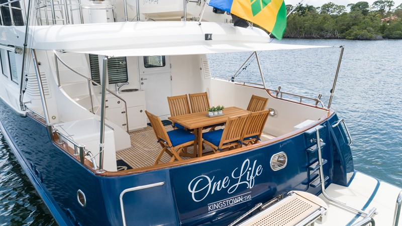 One Life 2013 Nordhavn Motor Yacht Mls 254293 Cyba Yachts For Sale