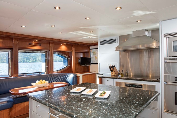 Galley 2007 RICHMOND YACHTS Tri-Deck M/Y Motor Yacht 2514669