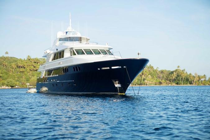 Starboard Bow Profile 2007 RICHMOND YACHTS Tri-Deck M/Y Motor Yacht 2514709