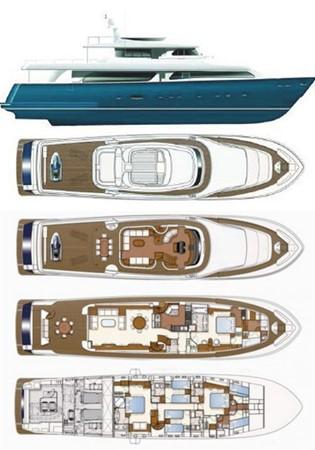 2001 CUSTOM LINE Navetta 30 Motor Yacht 2515762