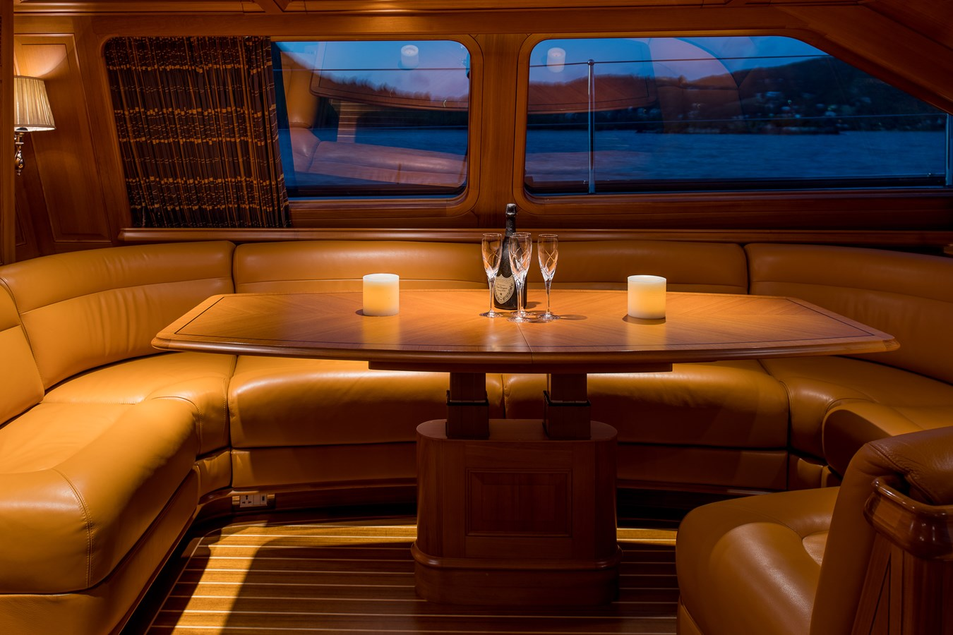 Deck Salon with Table Raised 1998 ALLOY Sailing Ketch Cruising Ketch 2516590