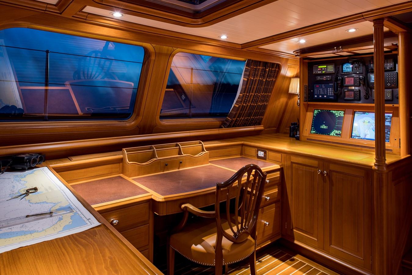 Deck Salon Navigation and Communication Area 1998 ALLOY Sailing Ketch Cruising Ketch 2516592