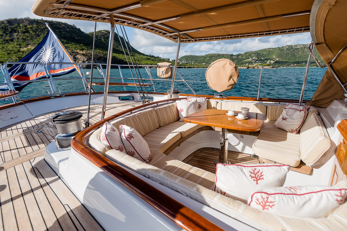 Owner's Private Cockpit 1998 ALLOY Sailing Ketch Cruising Ketch 2516616